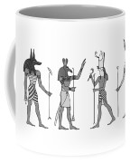 Gods Of Ancient Egypt Coffee Mug