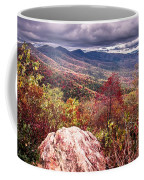 Graveyard Fields Overlook In The Smoky Mountains In North Caroli Coffee Mug