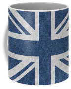 Great Britain Denim Flag Coffee Mug