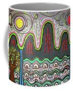 Ilwolobongdo Abstract Landscape Painting2 Coffee Mug