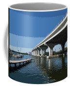 Indian River Lagoon At Vero Beach In Florida Coffee Mug