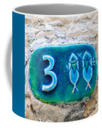 Jaffa, Pisces Zodiac Street Sign  Coffee Mug