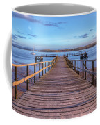 Lake Pier - England Coffee Mug