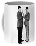 Laurel And Hardy Coffee Mug by Granger