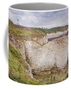 Lighthouse And Cliffs Coffee Mug