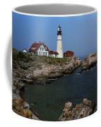 Lighthouse - Portland Head Maine Coffee Mug by Frank Romeo