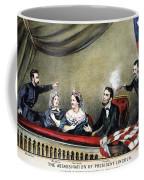 Lincoln Assassination Coffee Mug