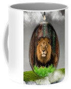 Lion Art Coffee Mug