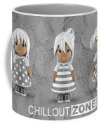 3 Little 3d Girls In Chilloutzone Coffee Mug