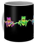 3 Little Frogs Coffee Mug