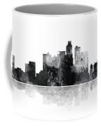Los Angeles California Skyline Coffee Mug