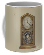 Mantel Clock Coffee Mug