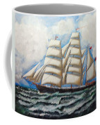 3 Master Tall Ship Coffee Mug