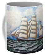3 Master Tall Ship Coffee Mug