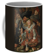 Merrymakers At Shrovetide Coffee Mug