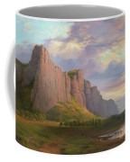 Mount Arapiles And The Mitre Rock Coffee Mug