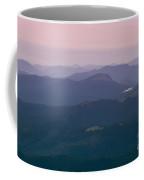 Mountain Scenery From Mount Evans Summit Coffee Mug