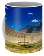 Mountains Of Leh Ladakh Jammu And Kashmir India Coffee Mug