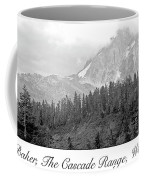 Mt. Baker, Cascade Range, Late Afternoon Coffee Mug