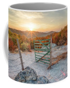 Mushroom Rock Phenomenon At Sunset Coffee Mug