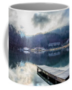 Nature Around Lake Lure Chimney Rock And Broad River North Carol Coffee Mug
