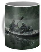 Navy Seals Navigate The Waters Coffee Mug
