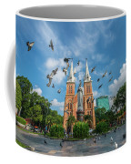 Notre-dame Cathedral Basilica Of Saigon, Officially Cathedral Basilica Of Our Lady Of The Immaculate Coffee Mug