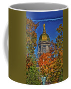 Notre Dame's Golden Dome Coffee Mug