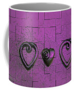 3 Of Hearts Coffee Mug