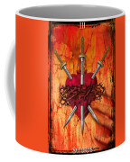 3 Of Swords Coffee Mug