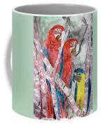 3 Parrots Coffee Mug