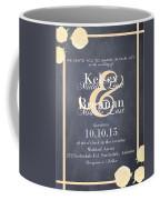 Personalized Wedding Invitation Coffee Mug