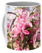 Pink Cherry Tree Coffee Mug
