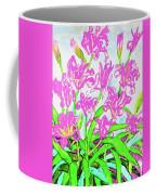 Pink Daily Lilies Coffee Mug