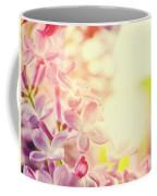 Purple Spring Lilac Flowers Blooming Close-up Coffee Mug