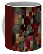 Redgreen And Violet-yellow Rhythms Coffee Mug