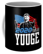 Reelect Trump For President Keep America Great Dark Coffee Mug