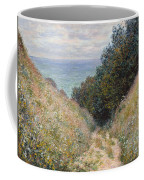 Road At La Cavee. Pourville Coffee Mug