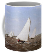 Sailboats Racing On The Delaware Coffee Mug