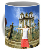 Saint Ildefonso Church Enjoying Coffee Mug