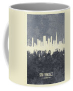 San Francisco California Skyline Coffee Mug