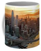 San Francisco Financial District Skyline Coffee Mug