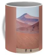 Sand Dune, Sossusvlei, Namib Desert Coffee Mug
