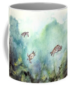 3 Sea Turtles Coffee Mug