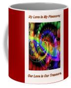 Serenading Hearts Coffee Mug