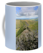 Sharpe Edge On Blencathra Fell, Lake District National Park Coffee Mug