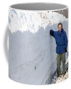 Snow By The Roadside Coffee Mug