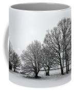Snow On Epsom Downs Surrey Uk Coffee Mug