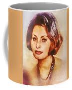 Sophia Loren, Vintage Hollywood Actress Coffee Mug