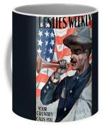 Spanish-american War, 1898 Coffee Mug